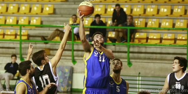 Club Ourense Baloncesto sumó su segunda derrota frente Cambre (Foto: Nacho Rego)