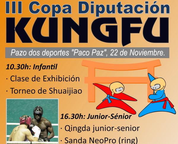 Kungfu: Copa Diputación el sábado 22 en el Pazo