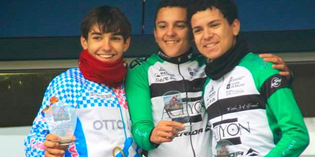 Club Cliclista Maceda protagonista en Dumbría en la prueba autonómica de ciclocross