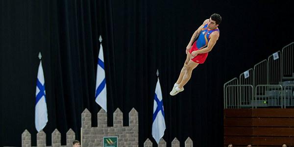 Buena actuación ourensana en el Campeonato de mundo de trampolín