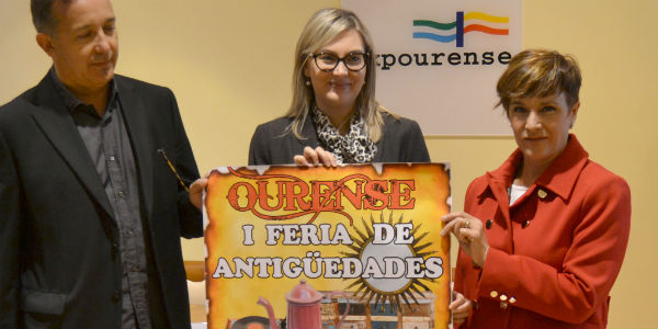 Cuarenta anticuarios y más de 30.000 piezas en la I Feria de Antigüedades de Ourense