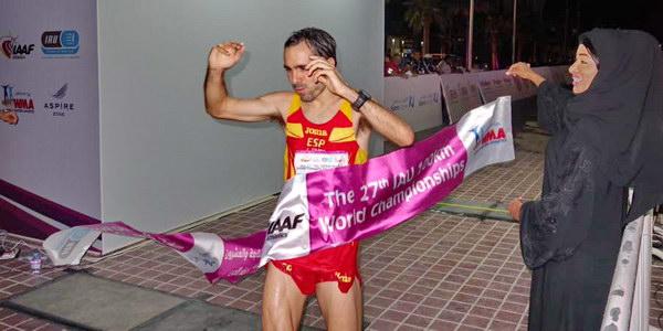 Jose Antonio Requejo bronce en el mundial de 100km