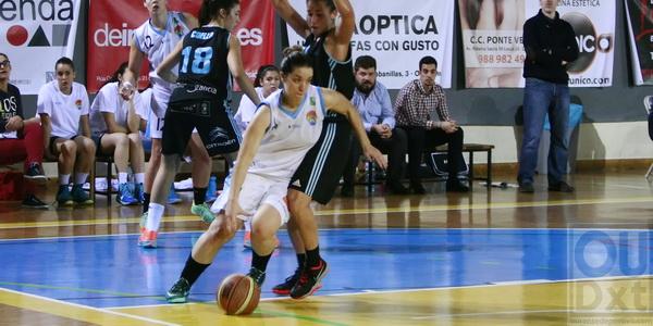 Noelia Olivia fue la jugadora con mayor valoración del partido (Foto: Nacho Rego)