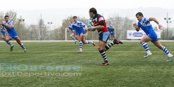 Ourense Rugby plantó cara al lider pese a caer 20 a 22