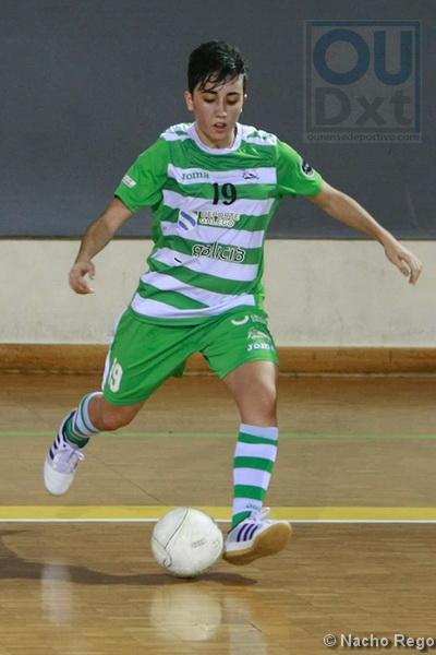 Vanessa Sotelo, pletórica en la tarde hoy, sumó tres nuevo goles en su casillero. (Foto: Nacho Rego)