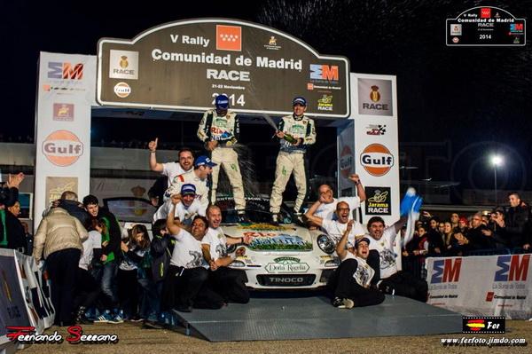 Escudería Ourense con Sergio Vallejo gana el Campeonato de España de rallyes