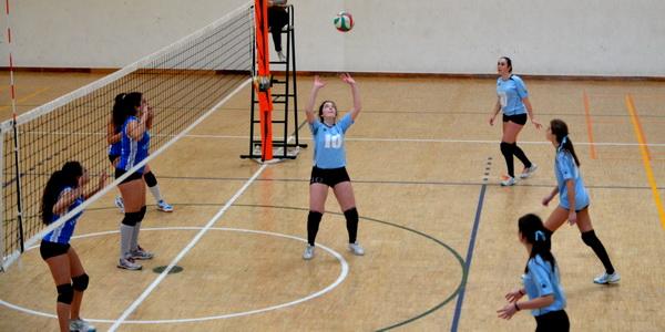 Concepción Arenal segundas en la liga Juvenil femenina de voleibol