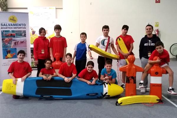 Salvour divulgó el Salvamento Acuático Deportivo con sus talleres en Megaxove