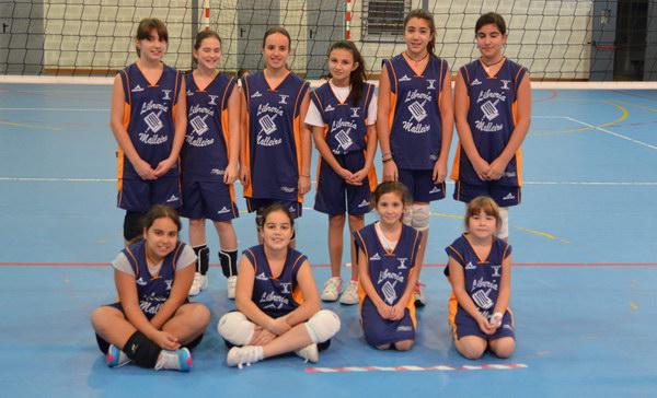 Burgas Voleibol y filiales: Infantil femenio, cadete femenino y I Jornadas abiertas de pequevoley