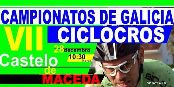 Maceda acoge este domingo el Campeonato Galego de Ciclocross