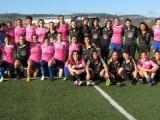 Foto de familia tras en encuentro disputado en Campus de Ourense (Foto: Ourenserugby)
