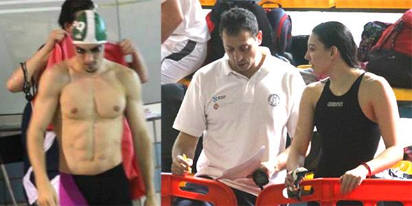 Ciurana y Pimentel 10º y 16ª en Nacional de Natación