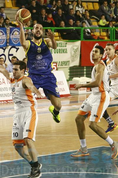 Salva Arco sumó en momentos importantes del partido (Foto: Nacho Rego)
