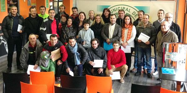 Los colegios recibieron los premios por su participación la San Martiño 2014