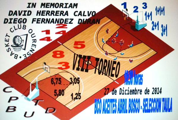 VIII Edición del Torneo Basket Club Ourense