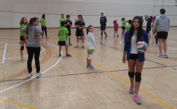 Club Burgas Voleibol celebró el Torneo Navideño
