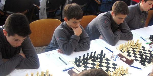 Benjamín Diéguez, Miguel Cantón e Marcos Vázquez xóvenes vencedores no Aninovo de Barrocás