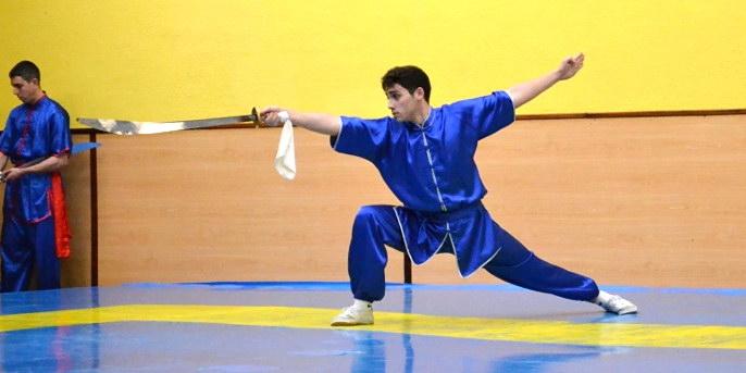 Artai arrasa en el Open de Wushu de Oviedo