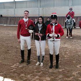 Carlos Sotelo, Sara y Elena finalistas en caballos de 4 años