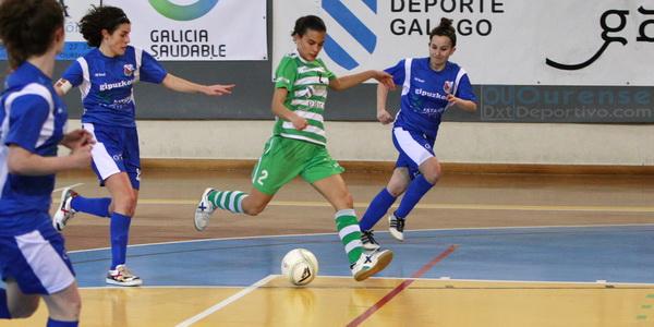 Suma y sigue para Cidade de As Burgas y Ourense Envialia en el sala femenino
