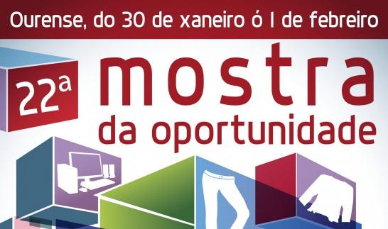 22ª Mostra da Oportunidade dende o 30 de xaneiro en Expourense