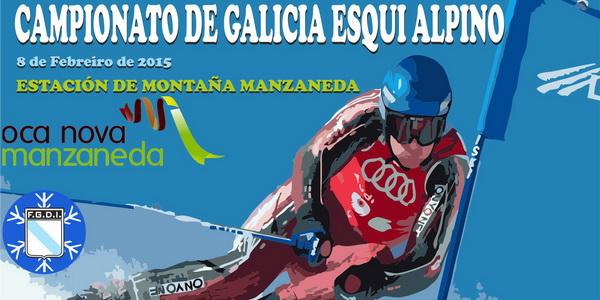 Campeonato Gallego de Esquí el domingo en Manzaneda
