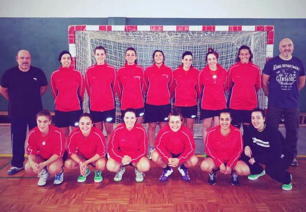 Campus Auria suma su primer triunfo en la Primera Femenina de balonmano