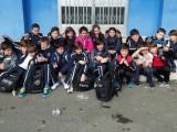 Equipo alevín del Natación Pabellón Ourense