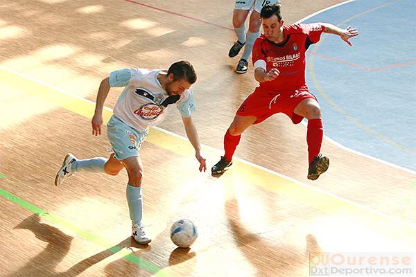 Sala Ourense Prolsport ejerce de lider ante Tui Futsal