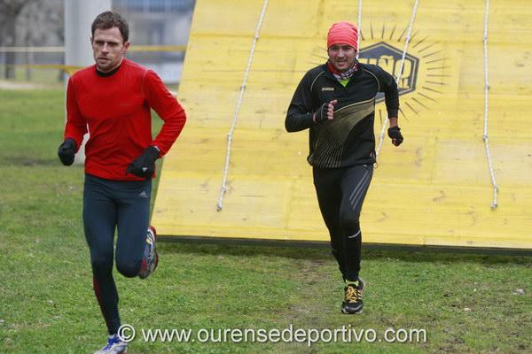 José Manuel Ramos y Luis Iglesias cedieron ante el ritmo de Daniel Pérez (Foto: Nacho rego)