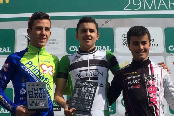 Ivan Feijoo Superprestigio MTB Navarra 2015
