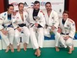 Tamara, Felipe, Cristian, Tono y Anita en el nacional de Jiu Jitsu