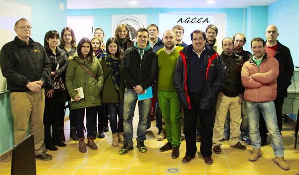 Foto de grupo de los asistentes al I Seminario de Turf