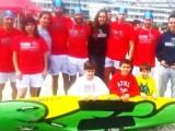 Equipo del SALVOUR participante en la primera jornada de la Liga Gallega 2015