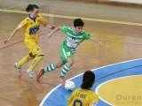 Un nuevo gol de Vanesa en los instantes finales evitó la derrota de Cidade (Foto: Nacho Rego)