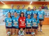 Equipo senior femenino voleibol ourense