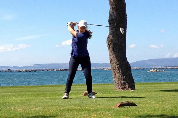 Judith Movilla, jugadora de Montealegre Club de Golf