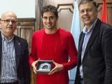 Alejandro Fernández recibido no Pazo Provincial polo presidente da Deputación de Ourense