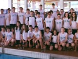 Integrantes del Natación Pabellón desplazados al torneo de Ponteareas