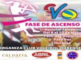 Voleibol Ourense busca dar el salto de categoría este fin de semana en el Paco Paz