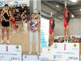 Ximnasia Pavillón y Burgas brillan en la Copa Galicia de Trampolin