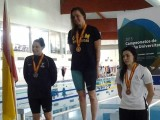 Laura Pimentel bronce en 400 libres