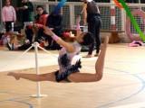 Loreto Blanco del Club Marusia participa en el Campeonato de España Escolar Rítmica
