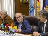 O presidente da Deputación de Ourense, Manuel Baltar, acompañado do alcalde da Gudiña, Guillermo Lago e do presidente da Federación Galega de Automobilismo, Iván Corral (Foto: Deputación de Ourense)