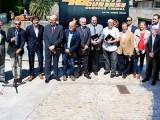Presentación oficial de la 48ª edición del Rallye Ourense Termal en la Zona Termal de As Burgas (Foto: Belay)