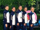 Representates de Galicia en Nacional Escolar de Rítmica (Foto: Club Marusia)