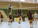 Encuentro entre  Burgas IES Allariz, filial del Club Burgas Voleibol, y Carmelitas Vedruna