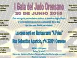 Este sábado 4ª jornada de la Copa Diputación y I Gala del Judo ourensano