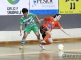 Imagen de archivo del encuentro de liga entre Cidade y Burela (Foto: Nacho Rego)