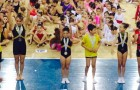 Podio Alevín Copa Deputación de Ximnasia Artística 2015